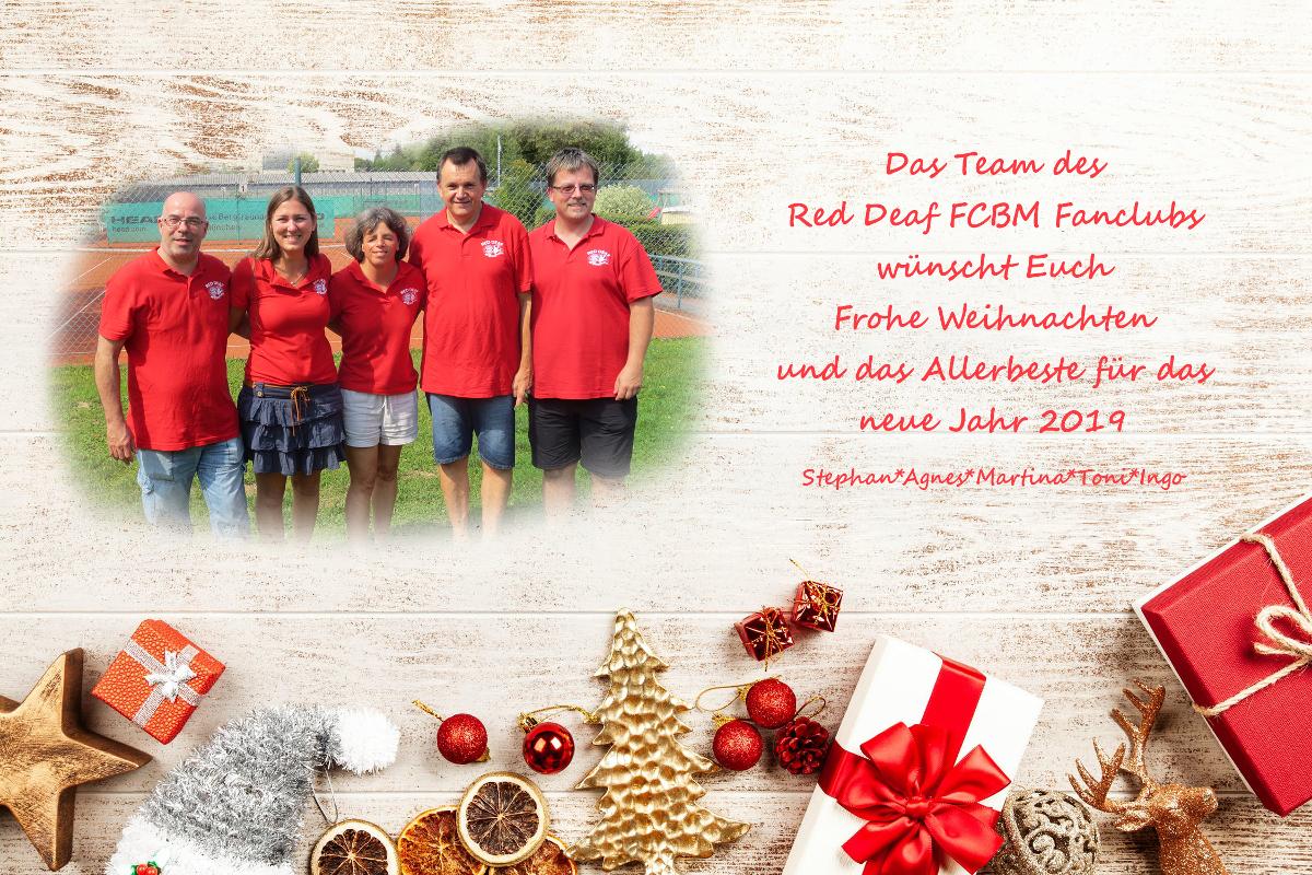 Fc Bayern Wünscht Frohe Weihnachten.Red Deaf Fcbm Fanclub